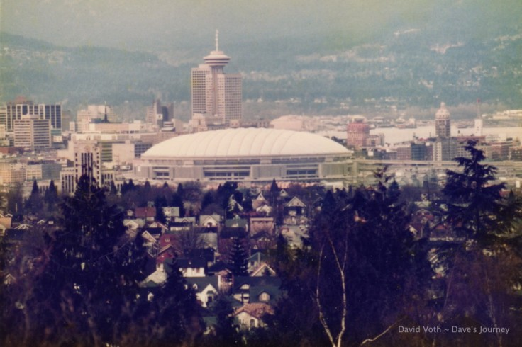BC Place (1983) and Vancouver Skyline