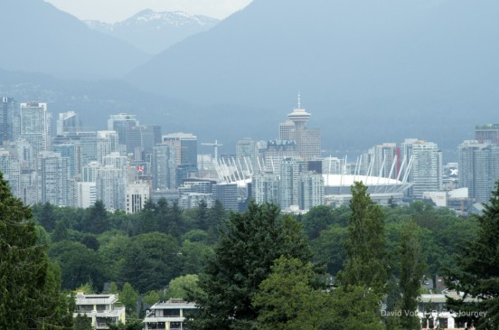 BC Place and Vancouver Skyline